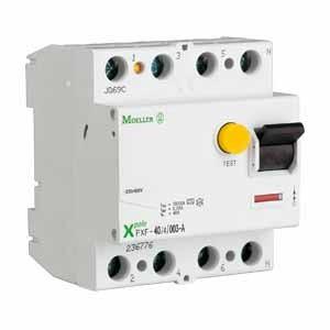 Eaton FI-Schalter 63A 4p 30mA Typ A PXF-63/4/003-A