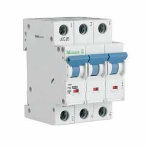 Eaton/Moeller Sicherungsautomat PXL-B10/3 10A