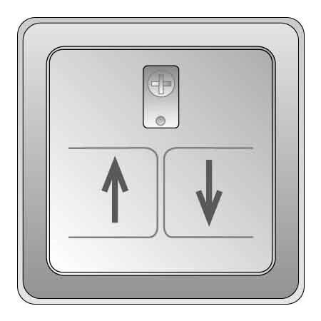 Elso-Schneider Zentralplatte für Rolladeneinsatz 207060/64
