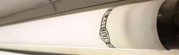 GLASSGUARD Leuchtstofflampe 5484/S 54W-840 splittergeschützt