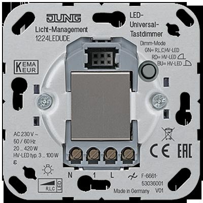 JUNG LED Universal-Tastdimmer 1224 LED UDE