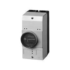 Eaton Isolierstoffgehäuse CI-PKZ0 H x B x T = 158 x 80 x 126 mm IP55 Drehgriff schwarz/grau CI-PKZ0-GM