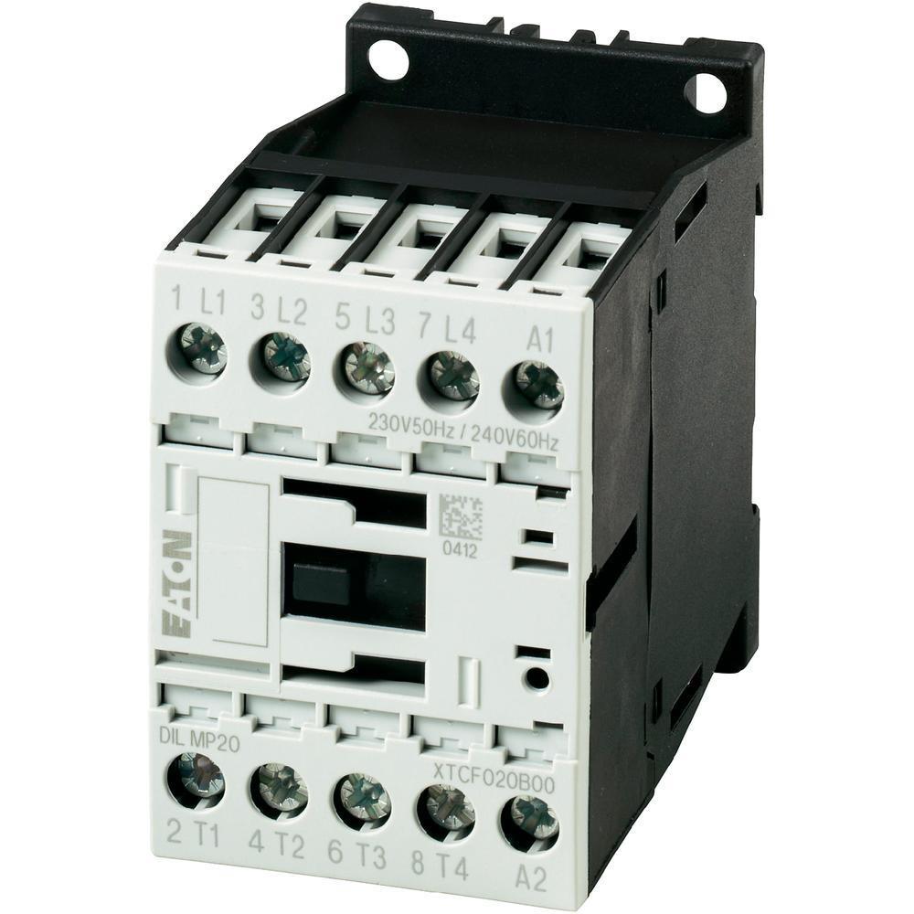 Eaton Leistungsschütz 3-polig + 1 Schließer 3 kW/400 V/AC3 DILM7-10(230V50HZ,240V60HZ)