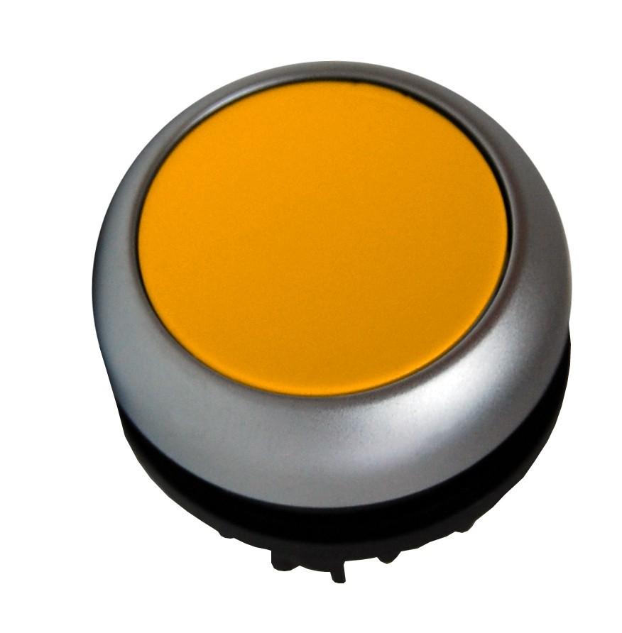 Eaton Drucktaste flach gelb rastend M22-DR-Y