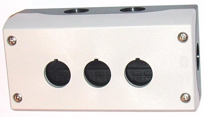 Eaton Aufbaugehäuse 3 Einbaustellen M22-I3