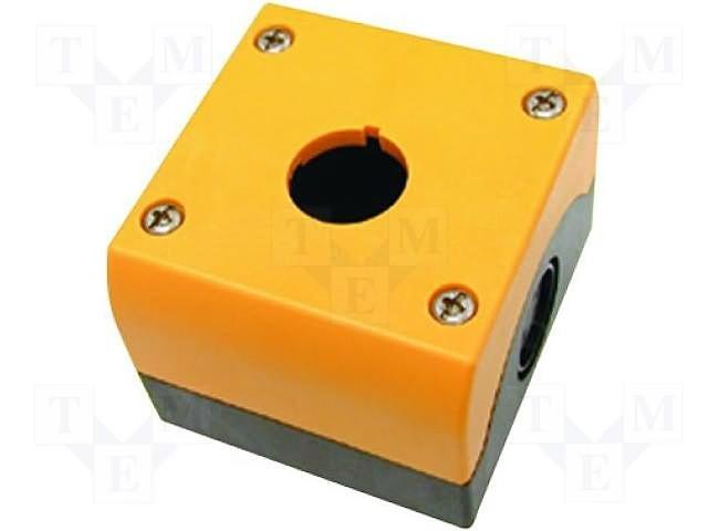 Eaton Aufbaugehäuse gelb 1 Einbaustelle M22-IY1