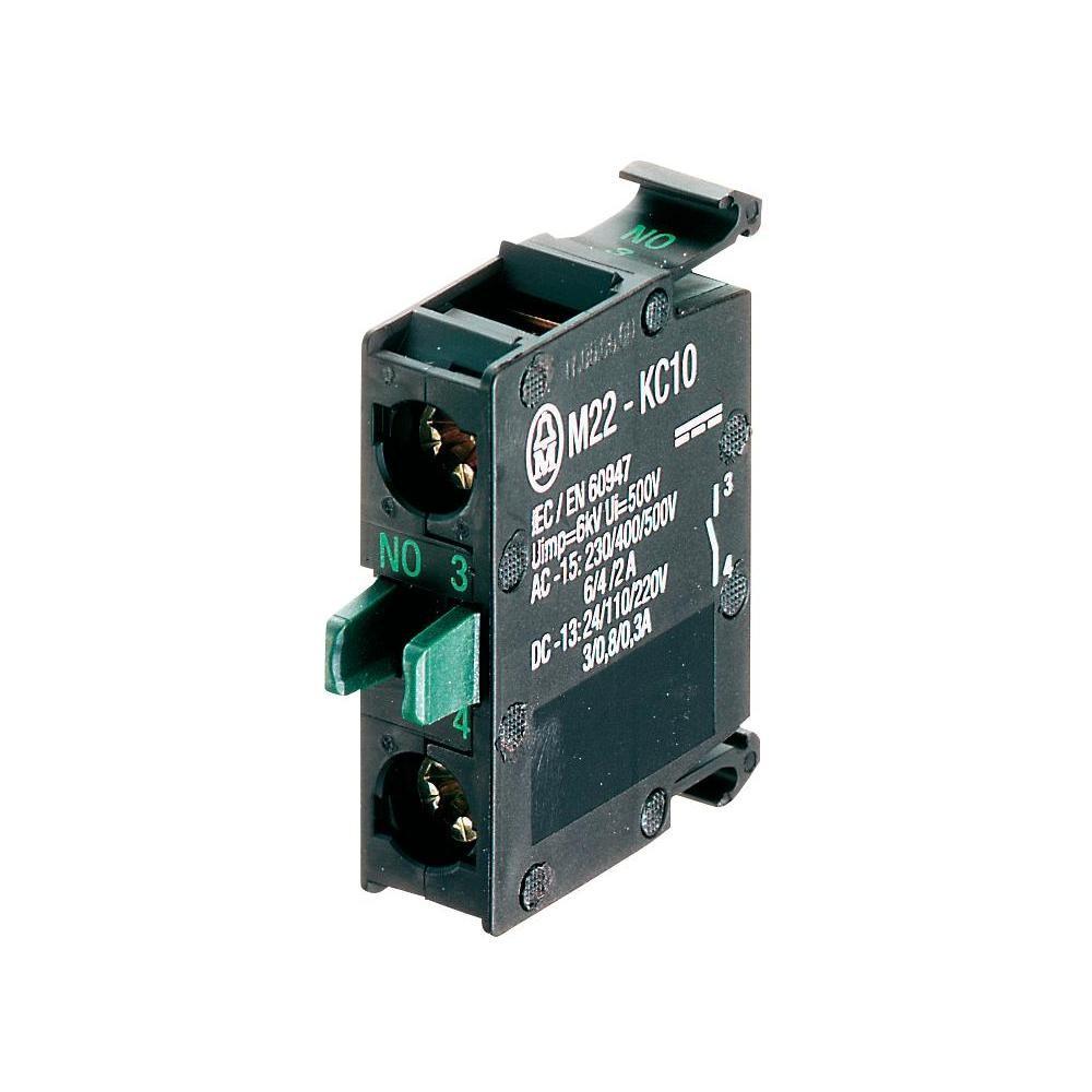 Eaton Kontaktelement 1 Öffner Bodenbefestigung Schraubanschluss M22-KC01