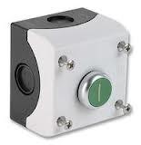 Eaton Drucktaster 1 Schließer + 1 Öffner flach grün Aufbau M22-D-G-X1/KC11/I