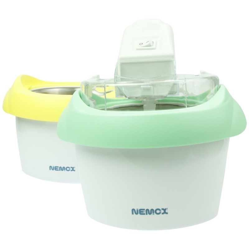 NEMOX Eismaschine Gelato DuoMio 2x1 L