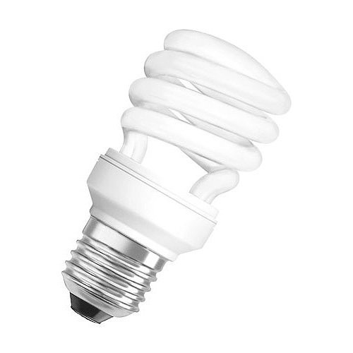 Radium Kompaktleuchtstofflampe Ralux®Spin Efficient RXE-SP 12W/827/E27