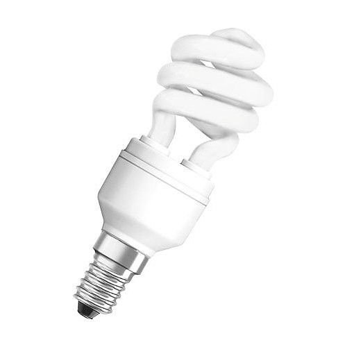 Radium Kompaktleuchtstofflampe Ralux®Spin Efficient RXE-SP 12W/827/E14