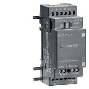 Siemens LOGO! DM8 230R 6ED1055-1FB00-0BA1 115/230 V/AC/DC