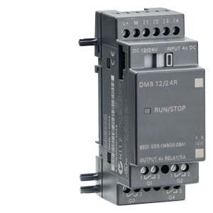 Siemens LOGO! DM8 12/24R 6ED1055-1MB00-0BA1 12/24 V/DC