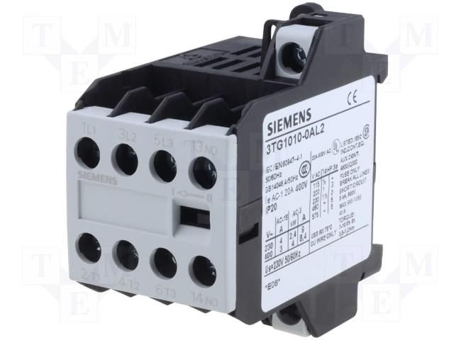Siemens Motorschütze 4-polig 3TG1001-0AC2