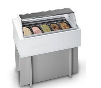 NEMOX Kühl- und Speichervitrine FREEZE Magic Pro 150