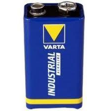 Varta 9V Block Batterie Alkaline 4022 6LR61 Industrial