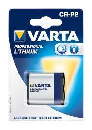 Varta Professional Lithium Batterie CR-P2 6V