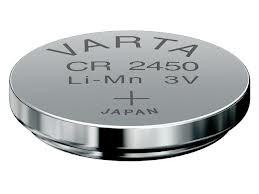 Varta Professional Lithium Knopfzelle CR2450 3V