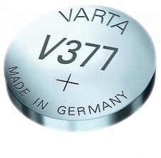 Varta Professional Silberoxyd Knopfzelle V377 1,55V