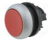 Eaton Drucktaste flach rot rastend M22-DR-R