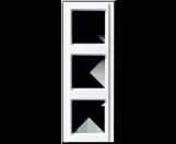 JUNG Rahmen 3fach A583WW