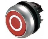 Eaton Drucktaste flach rot 0 rastend M22-DR-R-X0