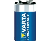 Varta 9V Block Batterie Alkaline 4922 6LR61 HIGH ENERGY